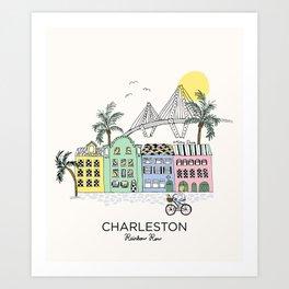 Charleston, S.C. Art Print