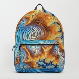 Abstract Lava Flows Backpack