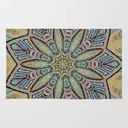 Stained Glass Window - Mandala Art Rug