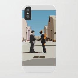 Wish you were flat iPhone Case