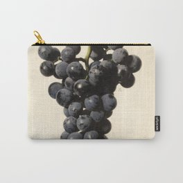 Vintage Concord Grapes Illustration Carry-All Pouch