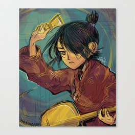 blink Canvas Print
