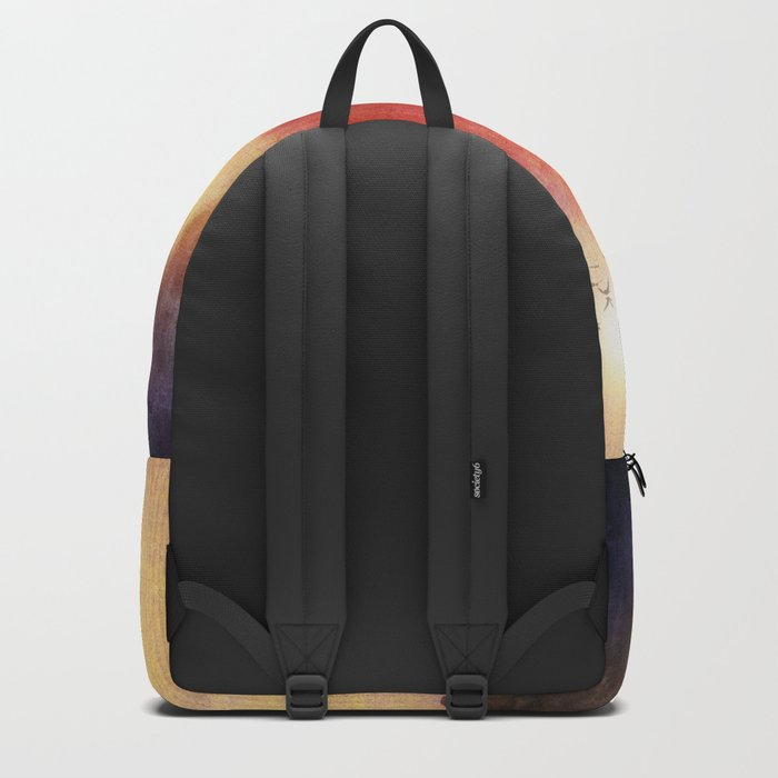 Red Tree Backpack