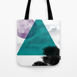 Free on The Moon Tote Bag