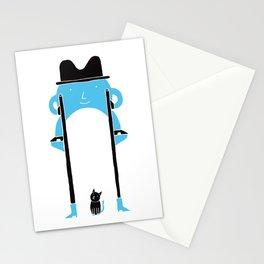 Mr Blue Boy Stationery Cards