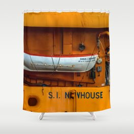 The Ferry Boat Newhouse Shower Curtain