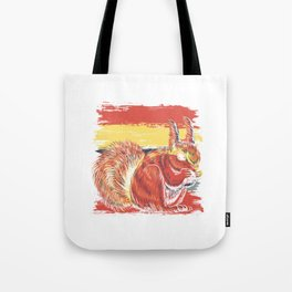 Squirrel Nature Cute Animal Lover Gift Idea Tote Bag