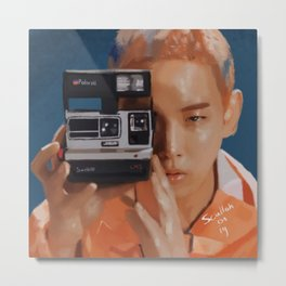 Kibum Camera Metal Print