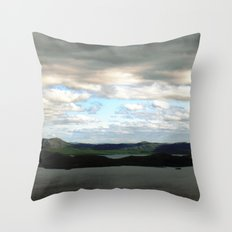 lake sweden. Throw Pillow