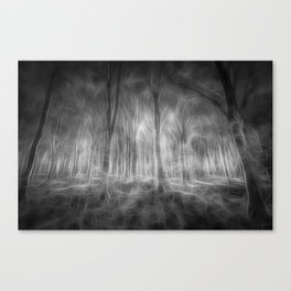 The Haunted Forest Canvas Print