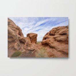 2736 - Redstone Trailhead, Lake Mead Nat'l Recreation Area, NV Metal Print