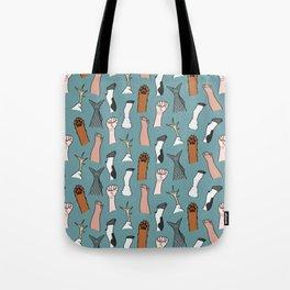 Unite Animal Equality Fists Tote Bag