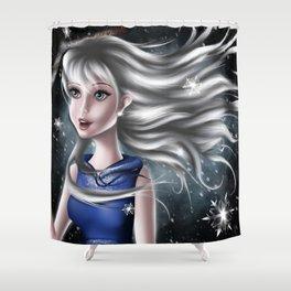 Jack Frost Genderbend Shower Curtain