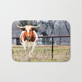 Texas Longhorn Morning Bath Mat