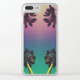 L.A. VIBES Clear iPhone Case
