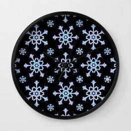 Let it Snow Mix 5 Midnight Version Wall Clock