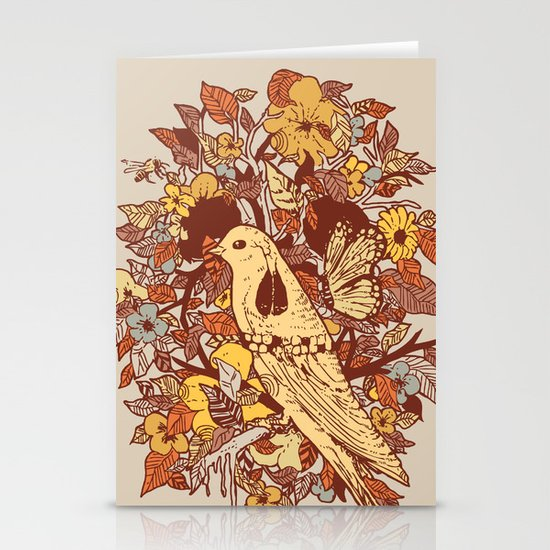 Strange and Beautiful Stationery Cards