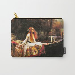 The Lady of Shalott Remastered Carry-All Pouch