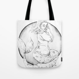LUCY mermaid Tote Bag
