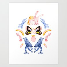 Rituals I Art Print