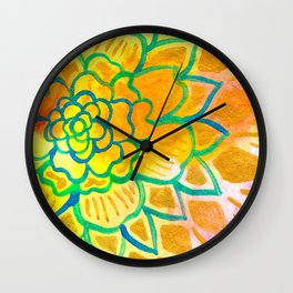 Sunstorm Wall Clock