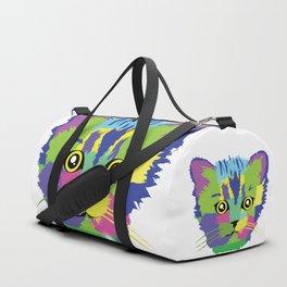 Color Cat Duffle Bag