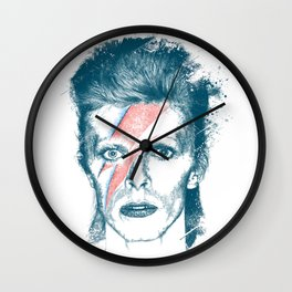 So Long Bowie.... Wall Clock