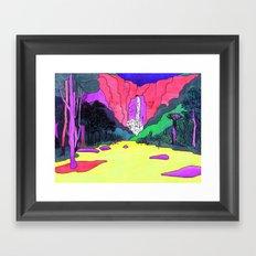 Waterfall #2 Framed Art Print