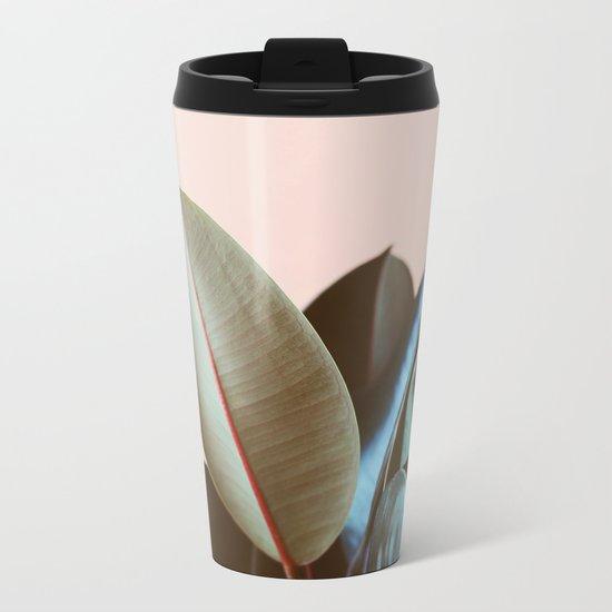 Ficus Elastica #1 Metal Travel Mug