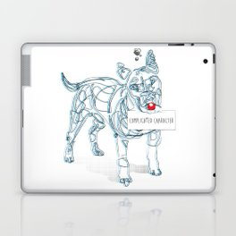 complicated character Laptop & iPad Skin
