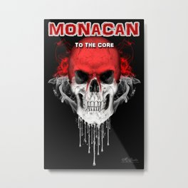 To The Core Collection: Monaco Metal Print