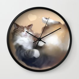 Catching dreams Wall Clock