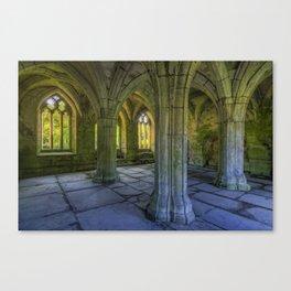 Valle Crucis Canvas Print