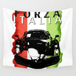 Forza Italia Wall Tapestry