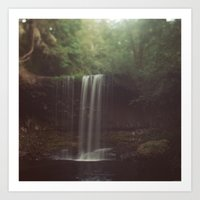 beaver Art Prints featuring Beaver Falls by Kevin Russ