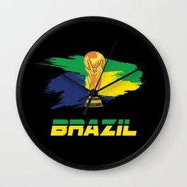 World cup Brazil Wall Clock
