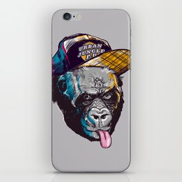 Gorillas Thinkers of the Urban Jungle iPhone Skin