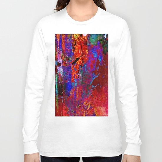 Abstract Long Sleeve T-shirt