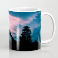 concert Mugs featuring Concert by Leah Galant