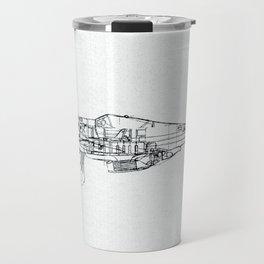 FW - 190 ( B & W) Travel Mug