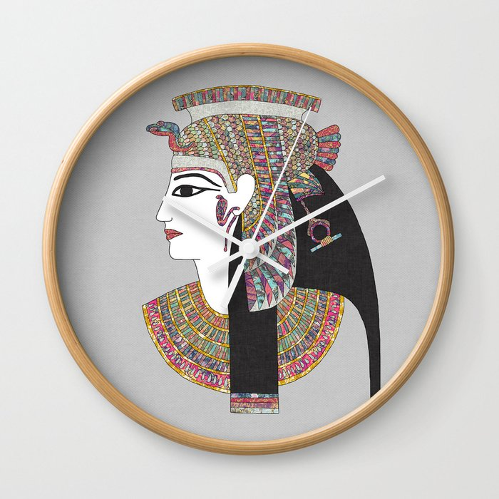 EGYPTIAN GODDESS Wall Clock