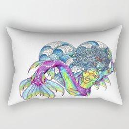 Heart of the Ocean Pisces Rectangular Pillow