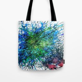 Abstract Synapse 293 Tote Bag