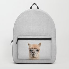 Alpaca - Colorful Backpack