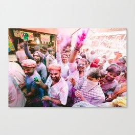INDIA 28 Canvas Print