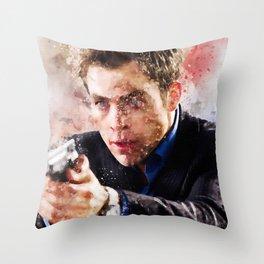 Chris Pine Throw Pillow