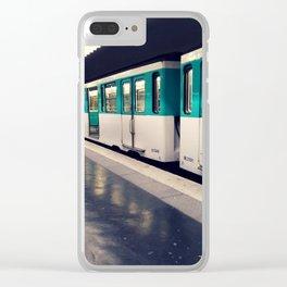 Hello Metro Clear iPhone Case