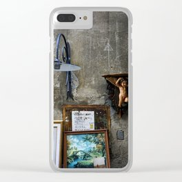 In The Corner - Lucca Clear iPhone Case
