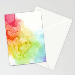 Study in Rainbow Stationery Cards