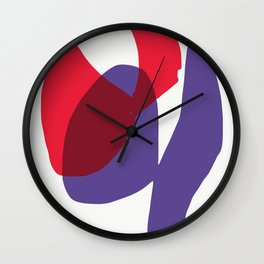 Matisse Shapes 9 Wall Clock